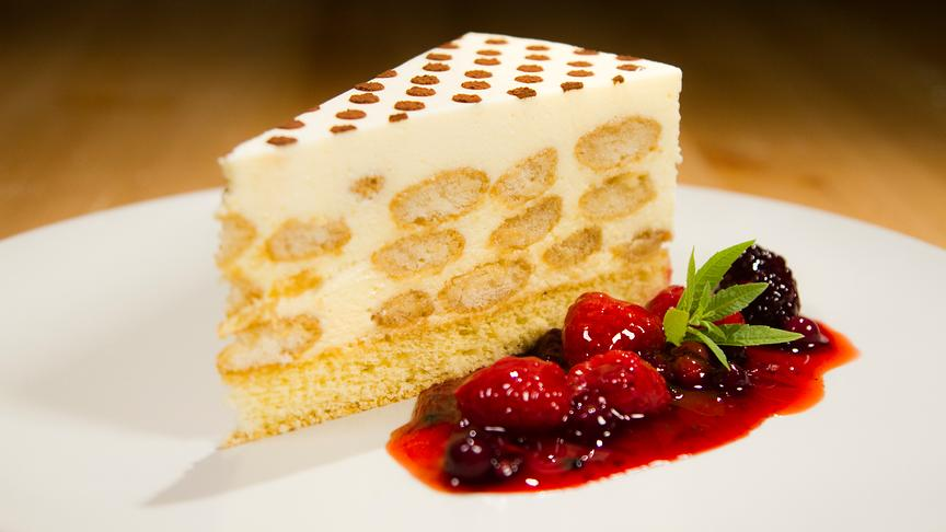 Mascarpone-Tiramisu Torte